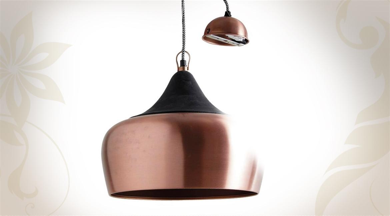 Lampe De Luminaire Et Moderne Idée Maison Lustre Cuivre ZPiukX