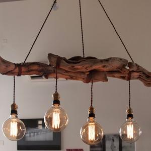 lustre en bois id e de luminaire et lampe maison. Black Bedroom Furniture Sets. Home Design Ideas