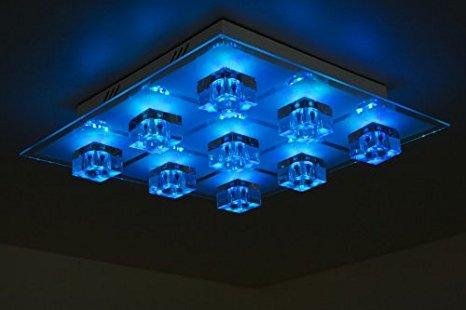 plafonnier led a telecommande id e de luminaire et lampe maison. Black Bedroom Furniture Sets. Home Design Ideas