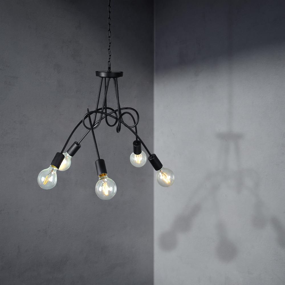 lustre 5 branches ikea id e de luminaire et lampe maison. Black Bedroom Furniture Sets. Home Design Ideas