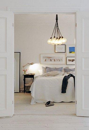 Lustre zen pour chambre id e de luminaire et lampe maison - Lustres pour chambre ...