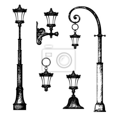 Eclairage urbain lampadaire