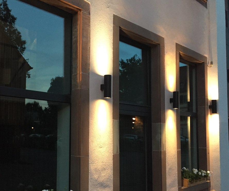 eclairage facade id e de luminaire et lampe maison. Black Bedroom Furniture Sets. Home Design Ideas