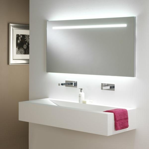 Eclairage led salle de bain - Idée de luminaire et lampe maison