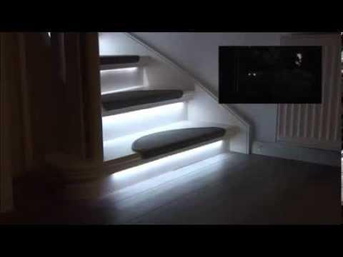 eclairage escalier led id e de luminaire et lampe maison. Black Bedroom Furniture Sets. Home Design Ideas