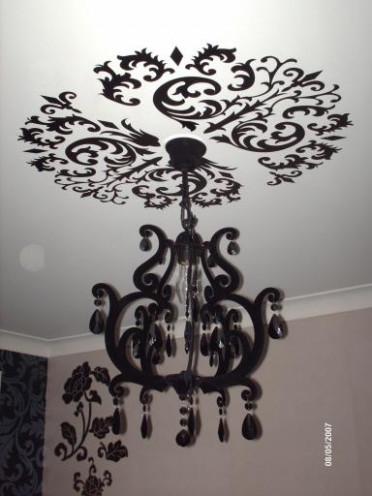 lustre noir pas cher id e de luminaire et lampe maison. Black Bedroom Furniture Sets. Home Design Ideas
