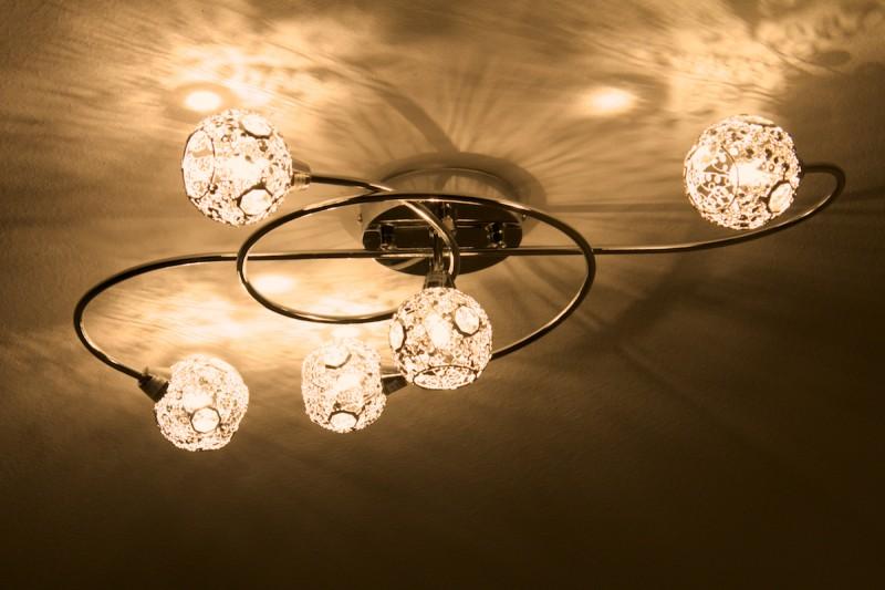 Suspension de lustre id e de luminaire et lampe maison - Luminaire pour salon ...