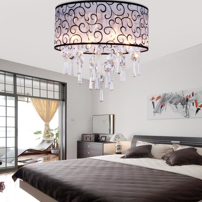 lustre chambre id e de luminaire et lampe maison. Black Bedroom Furniture Sets. Home Design Ideas