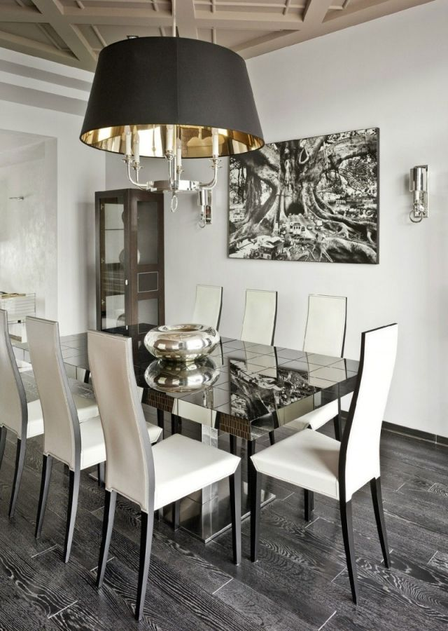 Lustre moderne salle a manger - Idée de luminaire et lampe maison