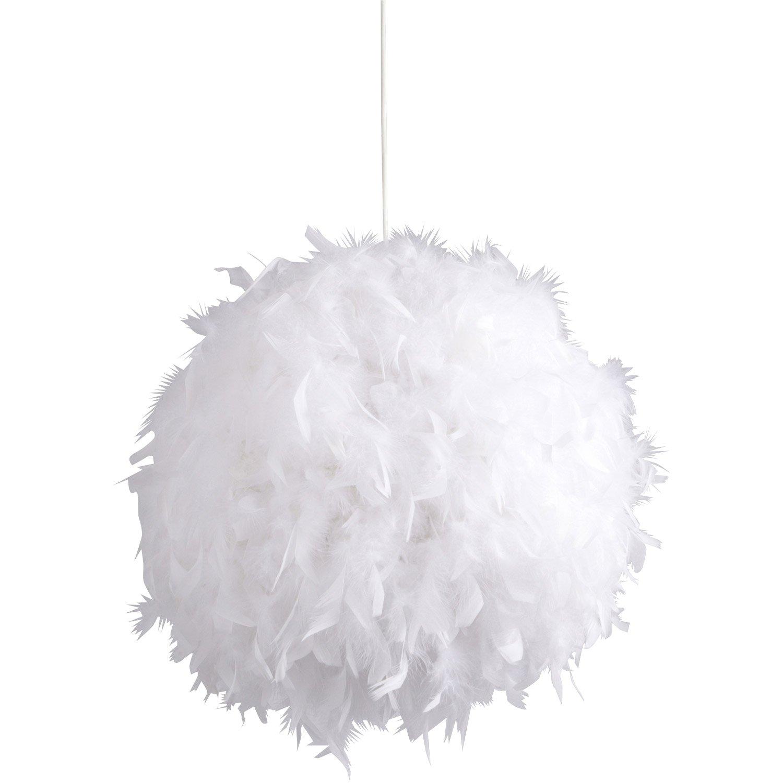 Lustre Boule Plume Idee De Luminaire Et Lampe Maison