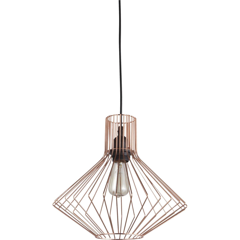 Lustre Cuivre Rose Idee De Luminaire Et Lampe Maison