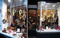 Deco noel vitrine boutique
