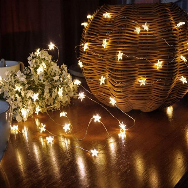 Lumineuse De Guirlande Noel Maison Idée Aliexpress Lampe Et Luminaire jASqL4c35R