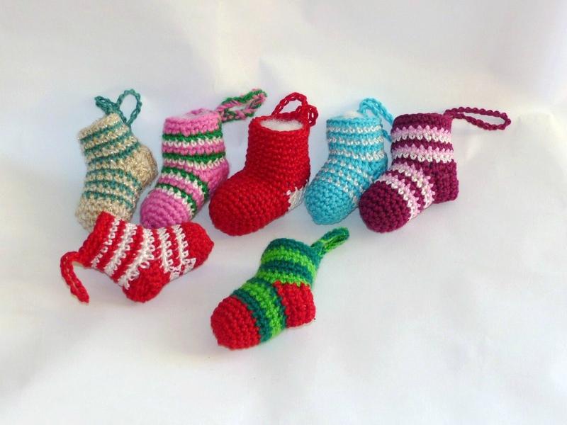 Decoration de noel au crochet explication