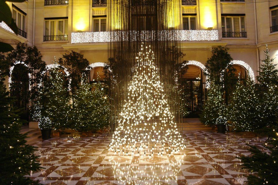 Decoration noel pour hotel