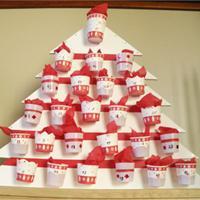 Deco Noel Avec Gobelet Plastique Idee De Luminaire Et Lampe Maison