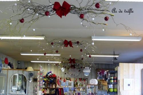 Decoration de noel pour magasin