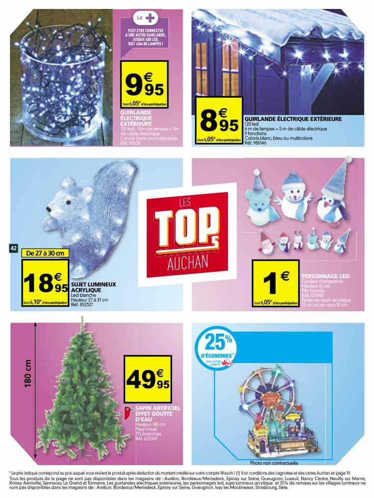 Guirlande Et Luminaire Noel Exterieur De Maison Lampe Auchan Idée L4j5AR3