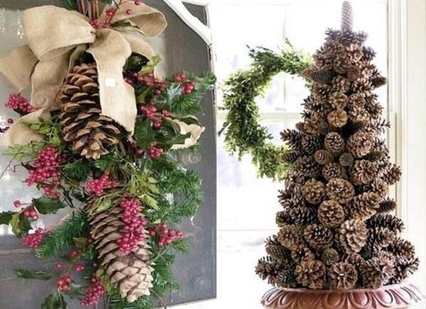 Fabriquer décoration de noel nature