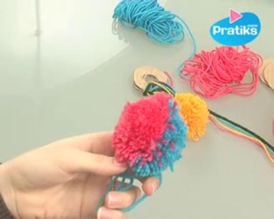 Comment faire une boule de noel avec de la laine