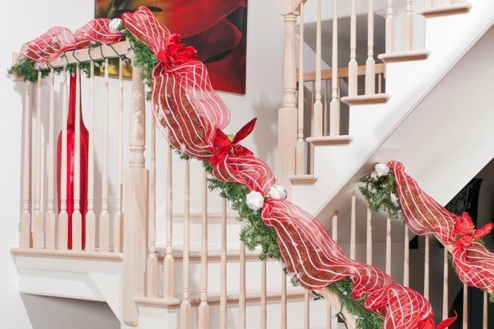 Decoration Escalier Interieur Noel