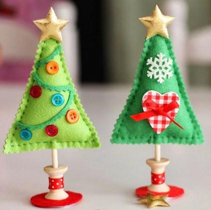 Decoration Noel Feutrine Faire Soi Meme Idee De Luminaire Et Lampe