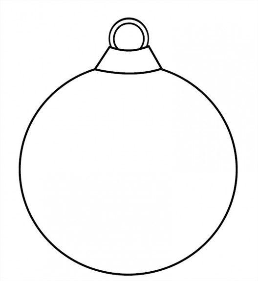 Dessin boule de noël