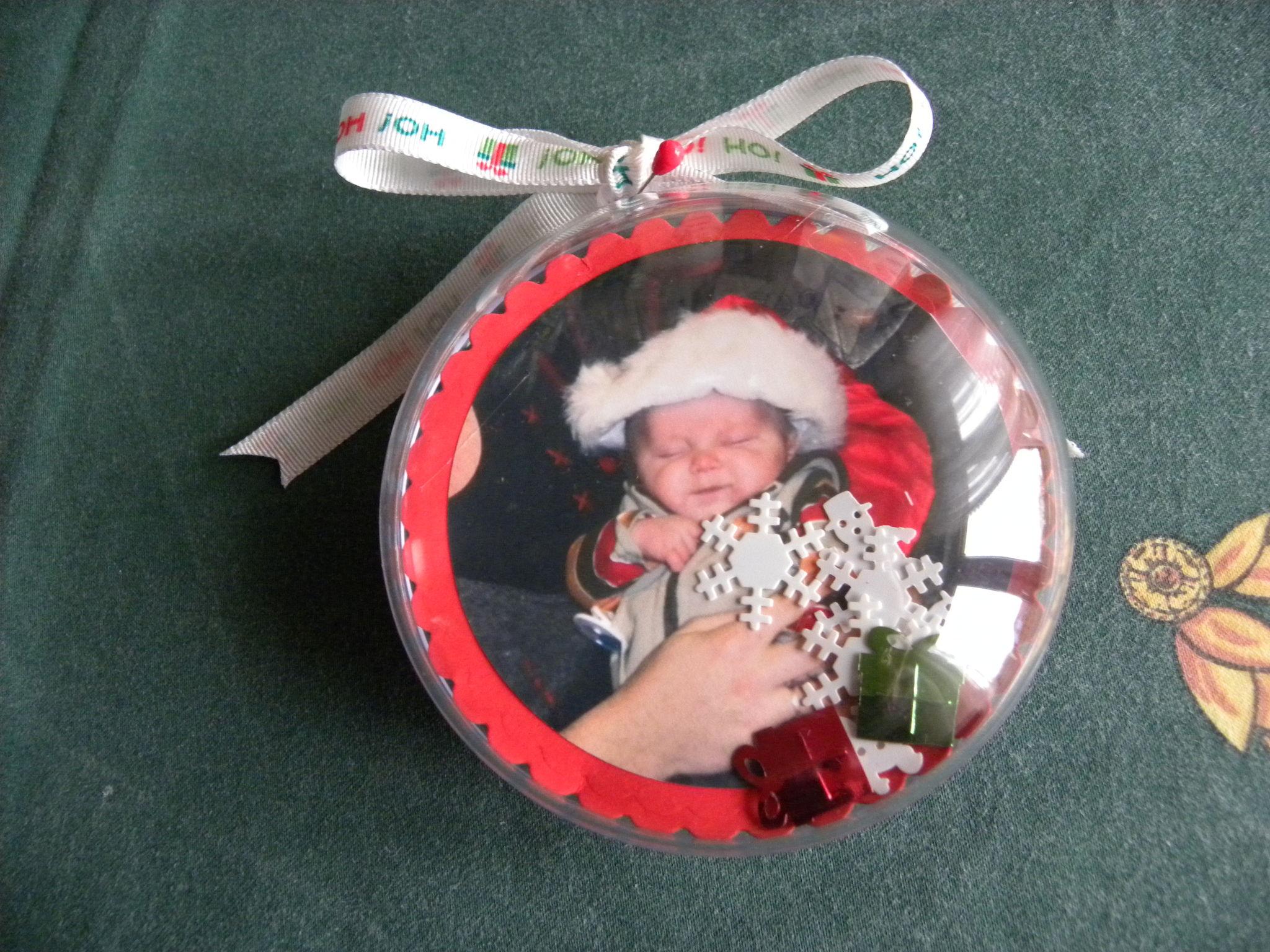 Boule De Noel à Faire.Idee De Boule De Noel