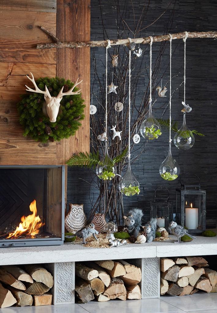De Noel La Et Nature Luminaire Idée Maison Lampe Avec Decoration PZuiOXk