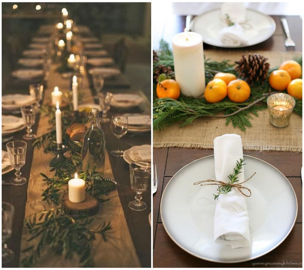 Decoration De Table Pour Noel Moderne Idee De Luminaire Et Lampe