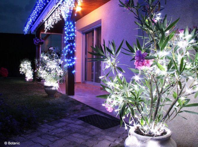 Décoration de noel au jardin - Idée de luminaire et lampe maison