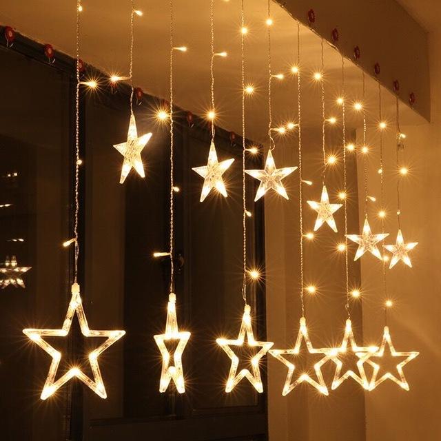Guirlande Etoile Noel Idee De Luminaire Et Lampe Maison