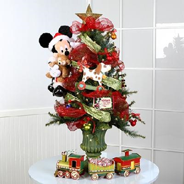 Decoration sapin noel disney