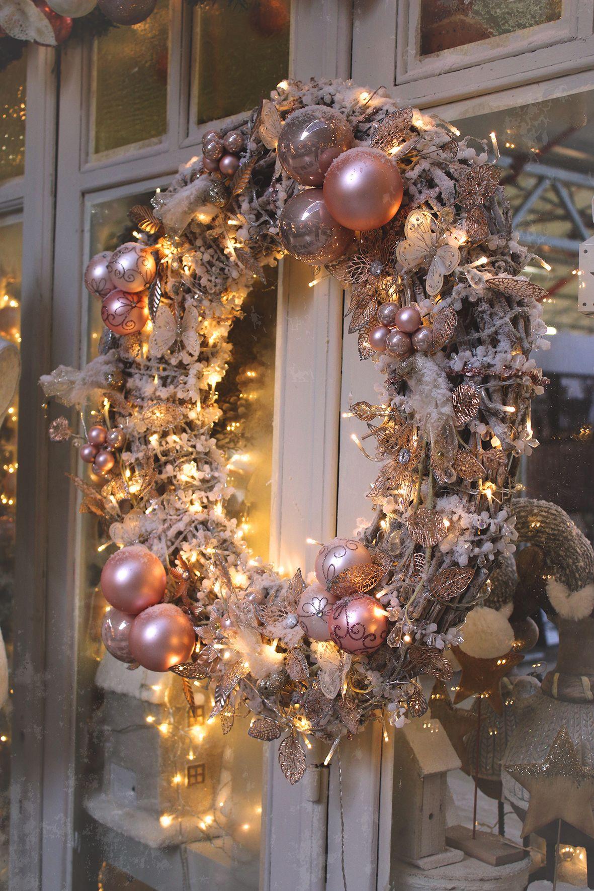 Decoration de noel floralux