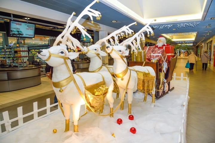 Decoration noel pour magasin