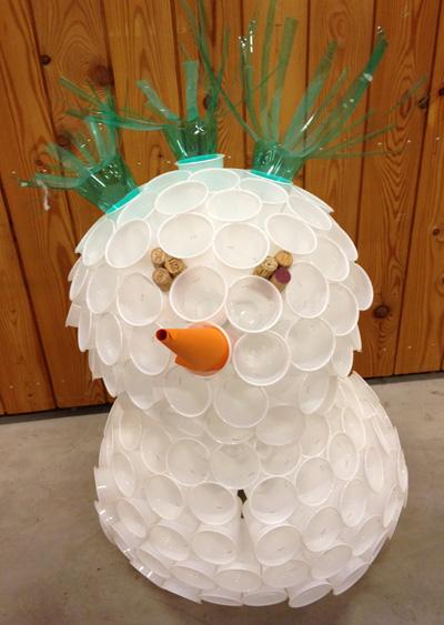 Deco Noel En Gobelet Plastique Idee De Luminaire Et Lampe Maison