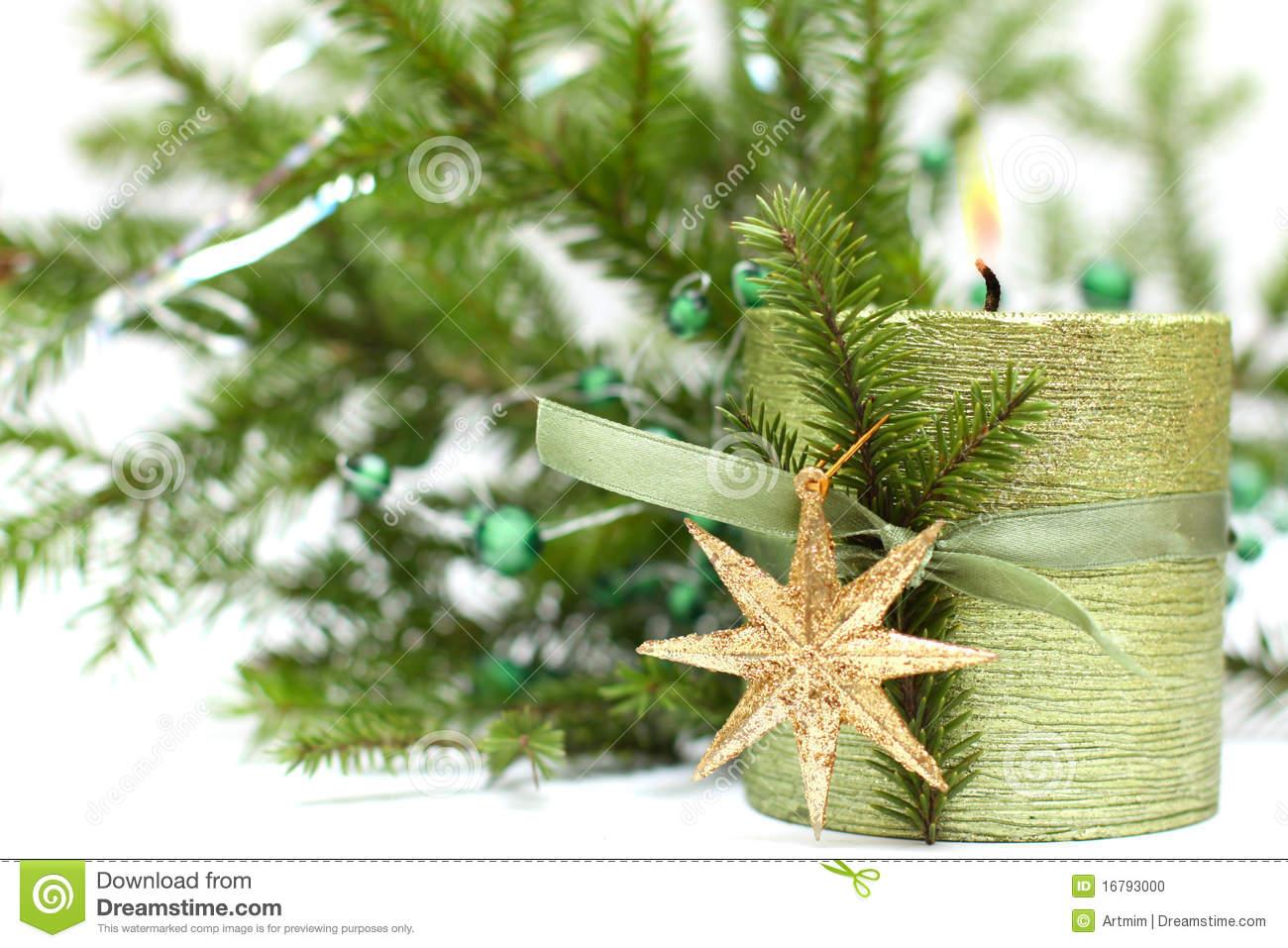 Decoration noel vert