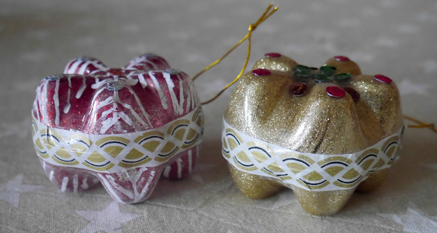 Fabriquer boule de noel avec photo