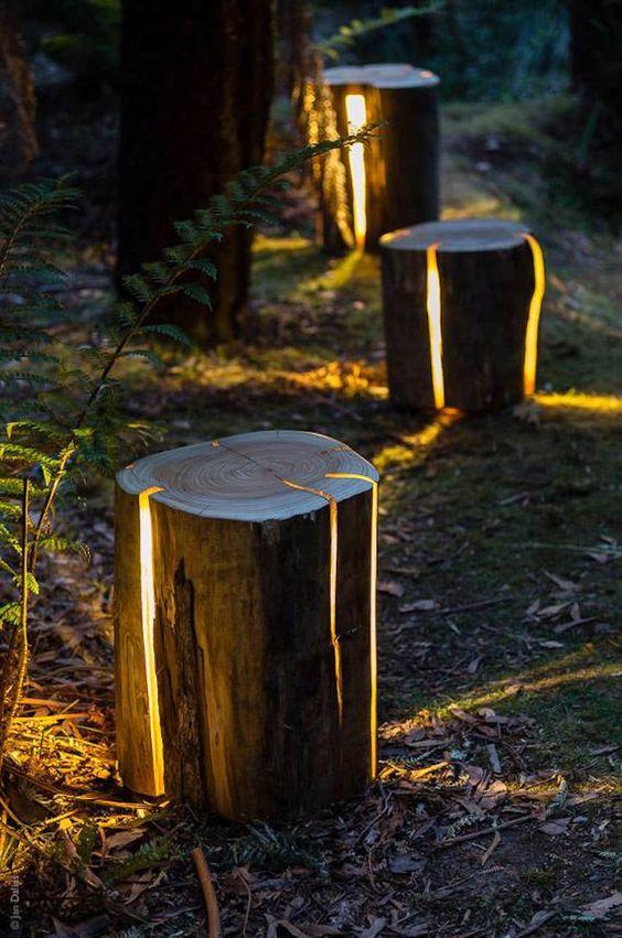 Deco noel jardin - Idée de luminaire et lampe maison