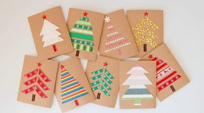 Carte De Noel A Confectionner.Deco Carte De Noel A Faire Soi Meme Idée De Luminaire Et