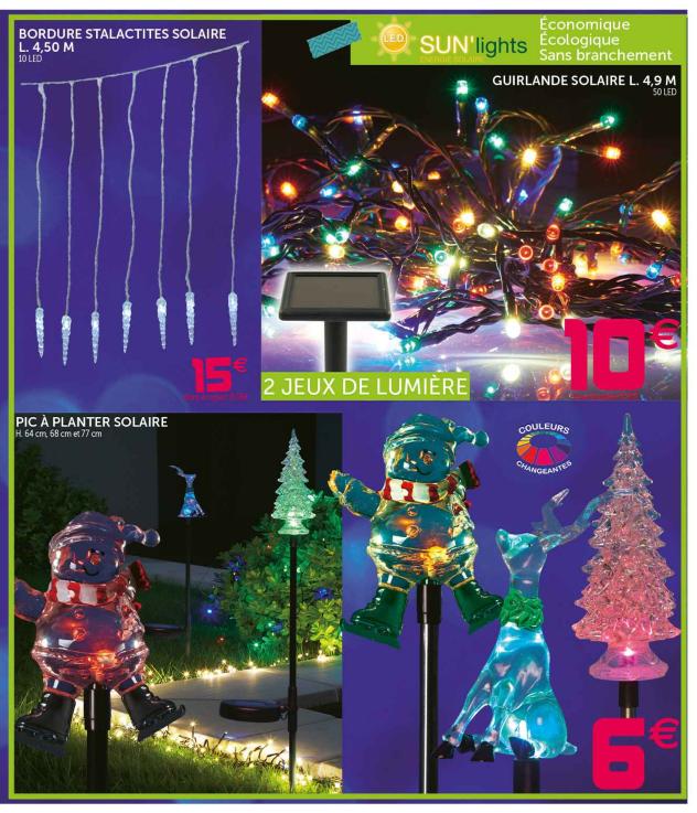 Decoration De Noel Exterieur Chez Gifi Idée De Luminaire Et Lampe