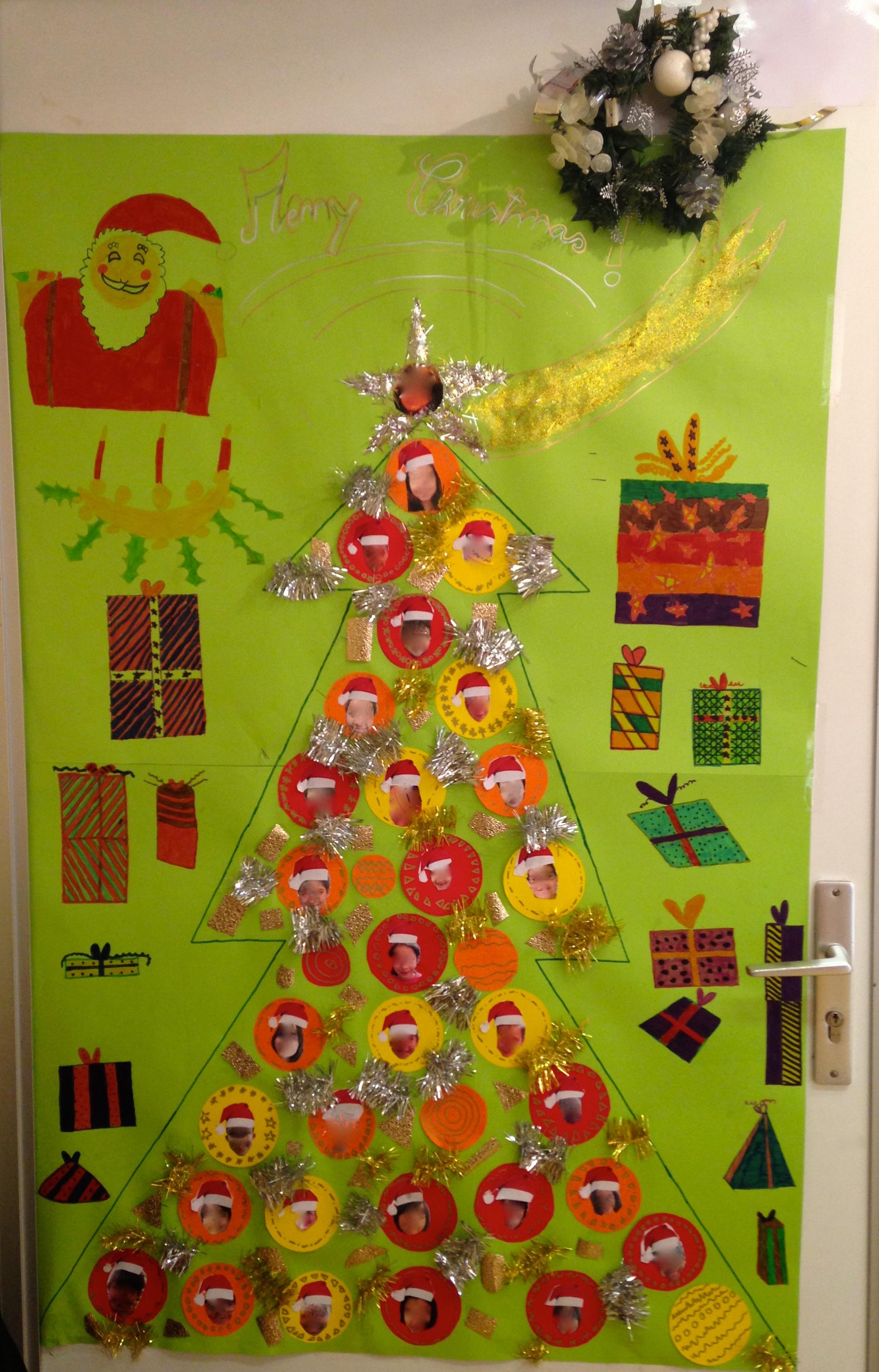 Deco Noel Classe Maternelle Idee De Luminaire Et Lampe Maison