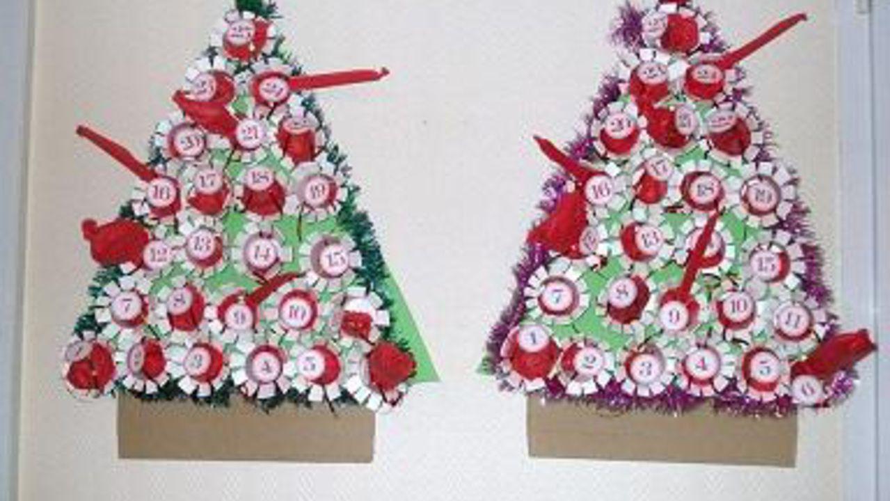 Decoration De Noel Avec Gobelet Plastique Idee De Luminaire Et