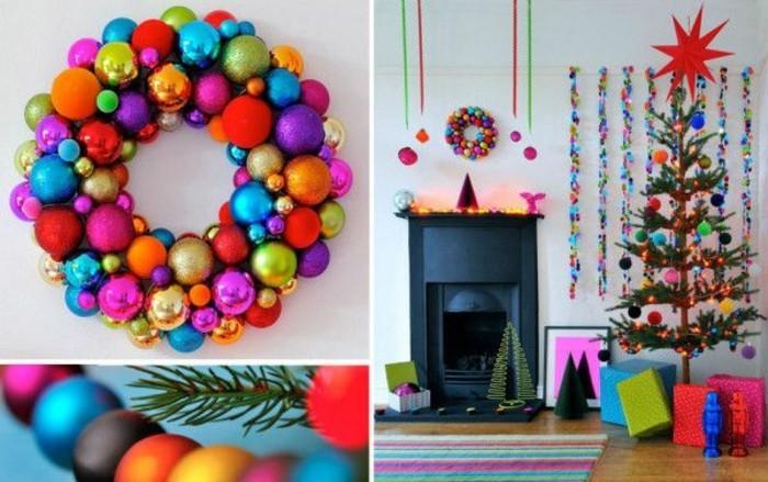 Idée originale décoration noel