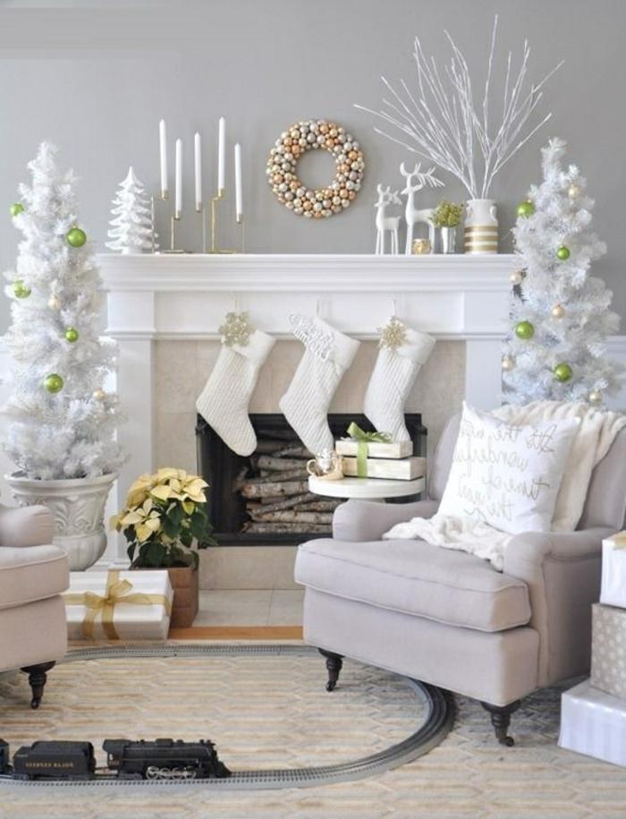 Exemple decoration noel interieur - Idée de luminaire et lampe maison
