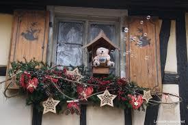 Decor De Fenetre Noel En Alsace Idee De Luminaire Et Lampe Maison