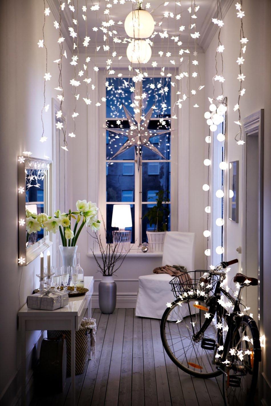 Decoration Noel Fenetre Interieur Idee De Luminaire Et Lampe Maison