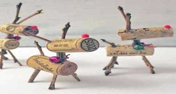 Décoration de noel en bois à fabriquer