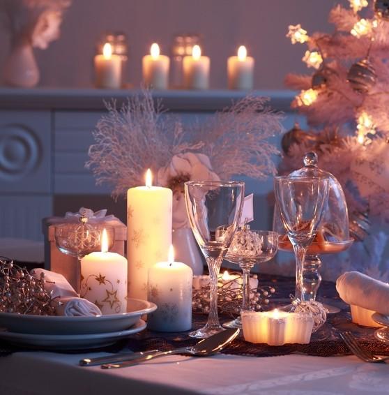 Decoration noel bougies