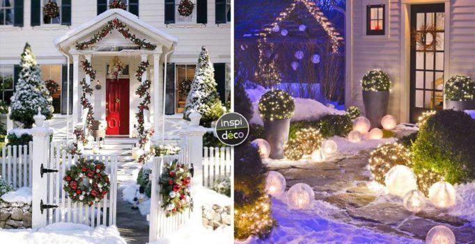 Decoration noel de jardin   Idée de luminaire et lampe maison